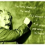 Einstein Rule of 72